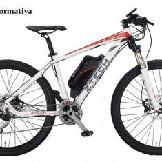 Bicicleta electrica cu cadru aluminiu ZT-82 ALPAN (700C) NEGRU
