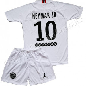 Compleu Echipament Fotbal PSG NEYMAR JORDAN MODEL 2019  pt copii 5-15 ani