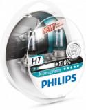 Set becuri Philips H7 Xtreme Vision +130