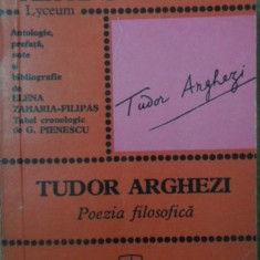 POEZIA FILOSOFICA - TUDOR ARGHEZII