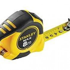 STANLEY Ruleta cu magnet MAX 8m x 25mm