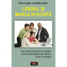 Liderul si munca in echipa - Gheorghe Aradavoaice