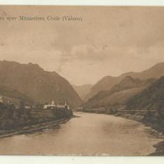 cp Romania : Vedere spre Manastirea Cozia - anii 1930
