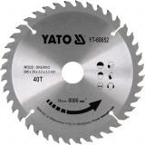 YATO Disc circular pentru lemn 210 x 30 x 3.2 T40