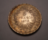 Franta 5 Franci 1873 Piesa Frumoasa