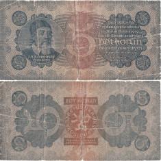 1921 ( 28 IX ), 5 korun ( P-15a ) - Cehoslovacia