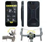 Carcasa Husa Topeak Ridecase Iphone 5, Carbon-Nylon, anti-shock, neagra