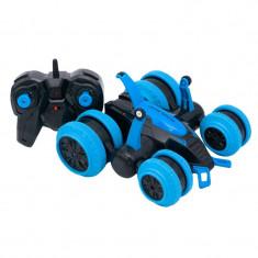 Vehicul cu telecomanda Cars, miscare 360 grade, 15 km/h, Albastru/Negru