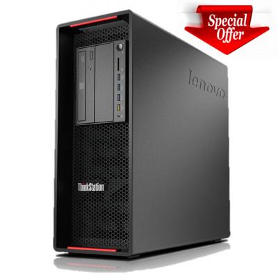 Workstation LENOVO ThinkStation P700 2x Intel Xeon 6-Cores E5-2620v3 3.20 GHz, 16 GB DDR4 ECC, 240 GB SSD NOU foto