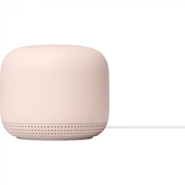 Nest WiFi Add-On Point Range Extender (1 Pack) Pink Sand