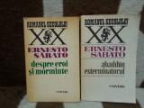 DESPRE EROI SI MORMINTE/ABADDON EXTERMINATORUL-ERNESTO SABATO (2 VOL)