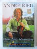 Andre Rieu - NEW YORK MEMORIES - DVD original, cu holograma, nou in tipla