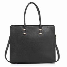 Anna Grace AG00319 geanta pe umar neagra