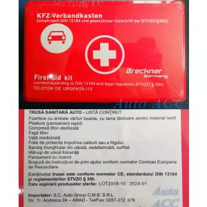 Trusa medicala – Stingator – Vesta – 2 Triunghiuri – Kit auto obligatoriu