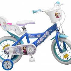 Bicicleta pentru fetite Frozen 14 inch