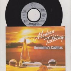 "Modern Talking - Geronimo's Cadillac (1986, Hansa) Disc vinil single 7"""