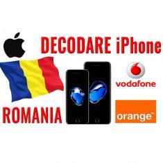Decodare iPhone 7 iPhone 7 Plus iPhone 6 iPhone 5 iPhone 4 – Vodafone Romania
