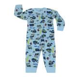 Pijama baieti Pifou M1-A1, Multicolor