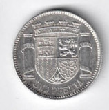 SPANIA 1 PESETA 1933 1934 ARGINT STARE AUNC, Europa