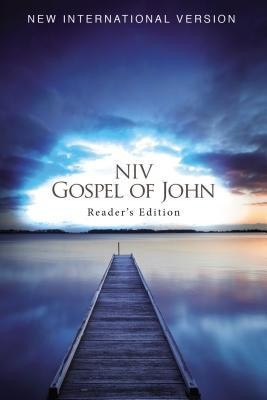 NIV, Gospel of John, Reader's Edition, Paperback foto