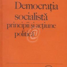 Democratia socialista. Principii si actiune politica