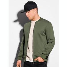 Bluza casual barbati B1077 - verde