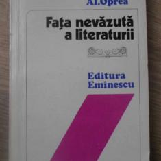 FATA NEVAZUTA A LITERATURII - AL. OPREA