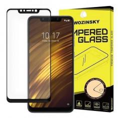 Folie Sticla Xiaomi PocoPhone F1 Wozinsky 5D Full Glue Neagru
