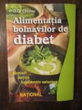 D. D. CHIRIAC - ALIMENTATIA BOLNAVILOR DE DIABET