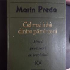 Cel Mai Iubit Dintre Pamanteni - Marin Preda ,548278