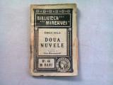 DOUA NUVELE - EMILE ZOLA