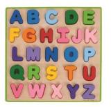 Puzzle colorat - alfabet, Bigjigs