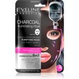 Eveline Cosmetics Charcoal Illuminating Ritual mască de curățare și super-hidratare