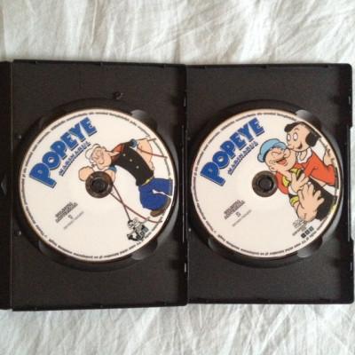 dvd-uri desene animate - Popeye Marinarul - vol 1 si 2 foto