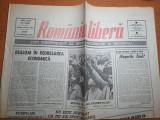 romania libera 23 ianuarie 1990-mitingul ligii studentilor,mircea angelescu