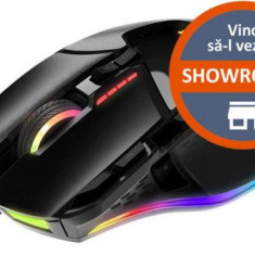 Mouse Gaming Patriot Viper V570, 12000 DPI, Laser (Negru)