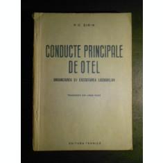 P. C. SIRIN - CONDUCTE PRINCIPALE DE OTEL