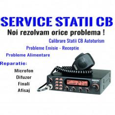 Service Statie CB Emisie – Receptie