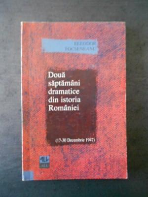 Eleodor Focseneanu - Doua saptamani dramatice din Istoria Romaniei 17-30Dec.1947 foto