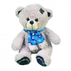 Ursulet de plus, 30 cm, Gri