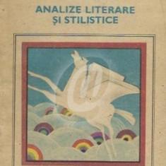 Analize literare si stilistice (Ed. Ion Creanga)
