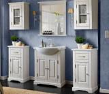 Set Mobilier pentru baie, 7 piese, Romantic