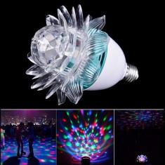 Bec cu joc de lumini,floare Autentic HomeTV