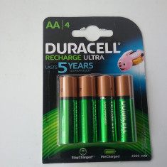 Duracell - Set 4 Acumulatori AA , HR6 , 2500mah made in Japan