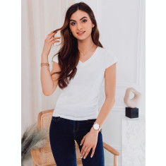 Tricou simplu femei SLR002 - alb