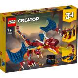 Cumpara ieftin LEGO® Creator 31102 - Dragon de foc