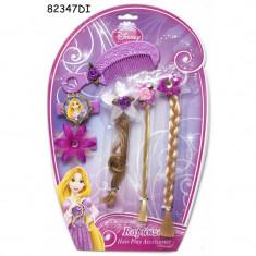 Set accesorii pentru par Rapunzel, 6 piese, 3 ani+
