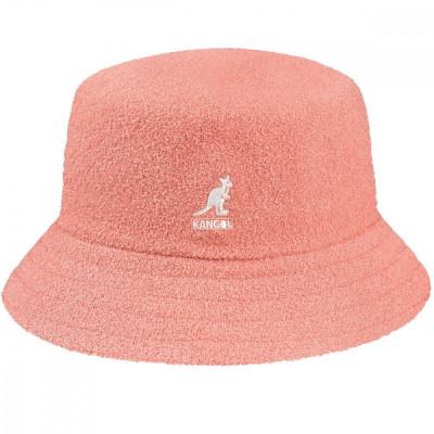 Palarie Kangol Bermuda Bucket Peach Pink (Masura : XL) - Cod 235225425 foto
