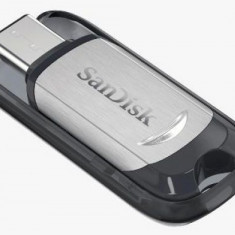 Stick USB Sandisk Ultra, 128GB, USB 3.1 (Gri/Negru)