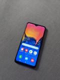 SAMSUNG A10 DualSim 4G 32GB Android10 BONUS: Folie sticla + Husa + Cablu, Negru, Neblocat